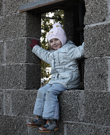 Дом из арболита - дом для детей